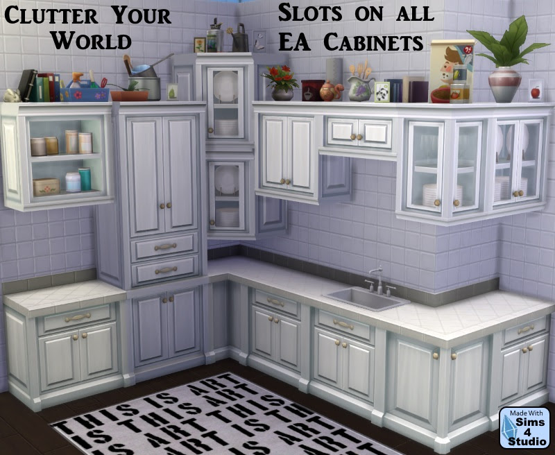 Cabinet Slot Mod for All EA Cabinets by OM