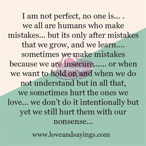 Hurting The Ones We Love Quotes