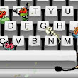 Keyboards can have more bacteria than a toilet seat!