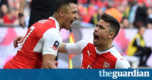 Alexis Sánchez gives Arsenal extra edge to sink Manchester City in semi | Football | The Guardian