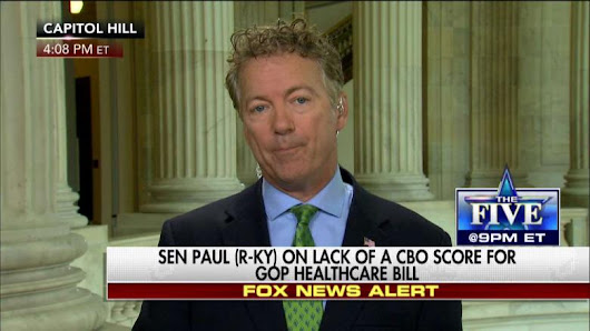 Paul: It Will Take a Little Bit of Work to Get Me to 'Yes' Vote on Health Care Bill