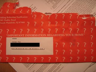 mystery envelope
