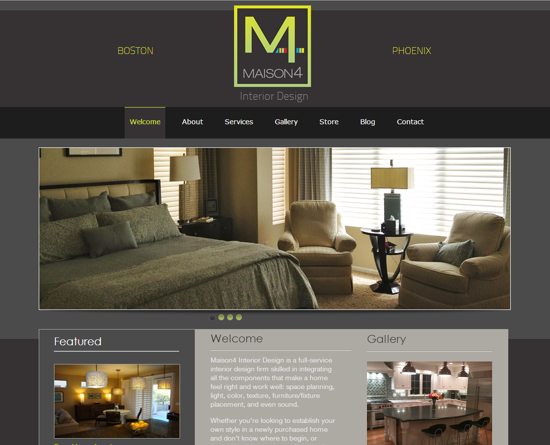 Interior Home Design Website