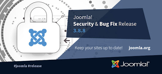 Joomla! Version 3.8.8 Bug Fix Release & aktueller 20% Rabatt
