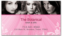 BCS-1002 - salon business card