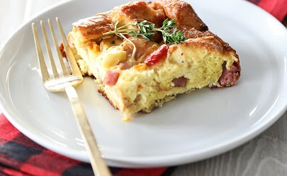 A Breakfast Casserole Built for Holiday Entertaining