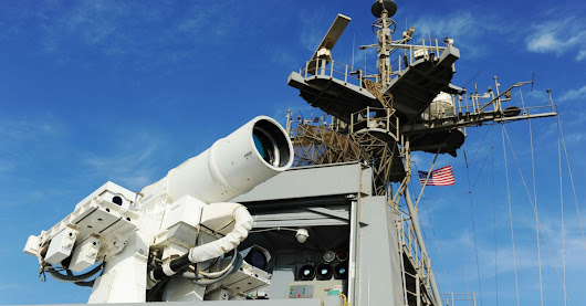 See the U.S. Navy's terrifying new laser weapon in action