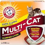 Arm & Hammer Clumping Litter, Extra Strength, Multi-Cat - 20 lb