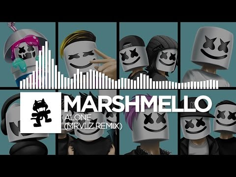 Marshmello - Alone (MRVLZ Remix) [Monstercat EP Release] - YouTube