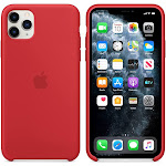 Brand New Apple iPhone 11 Pro Max Red Silicone Case