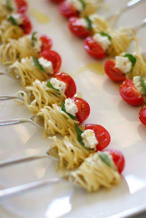 appetizer fun. One bite of pasta. The perfect Bite