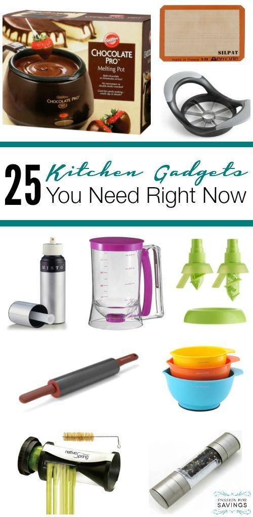 25 of the Best Kitchen Gadgets!