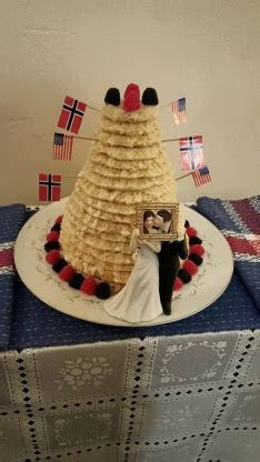 Kransekake 18 Layer Norwegian Wedding Cake) Recipe
