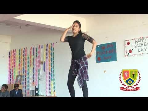 Superb Dance Performance : Teachers Day 2018 | Nims University | College Dance Video