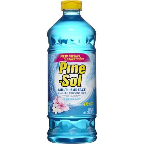 Pine-Sol All Purpose Cleaner, Sparkling Wave - 48 fl oz bottle