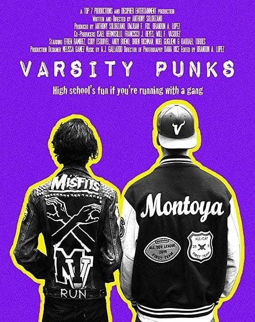 Descargar Varsity Punks Película 2017 Ver Online Gnula