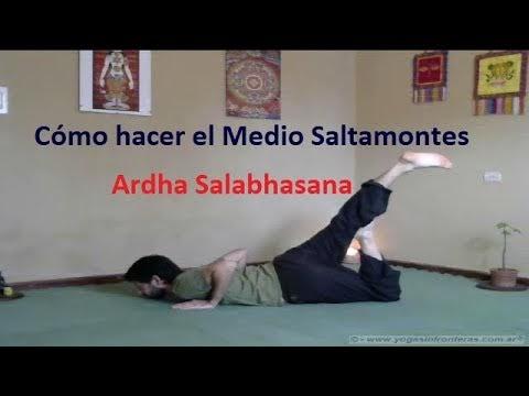 Video: Medio Saltamontes - Ardha Salabhasana