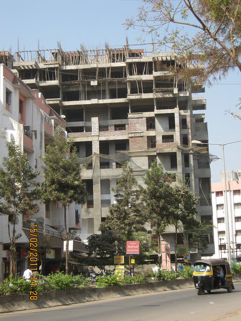 Om Developer's Aishwarya Residency 3 BHK Flats at Kaspate Wasti Wakad Pune 411 057 - View from Mankar Chowk - 2