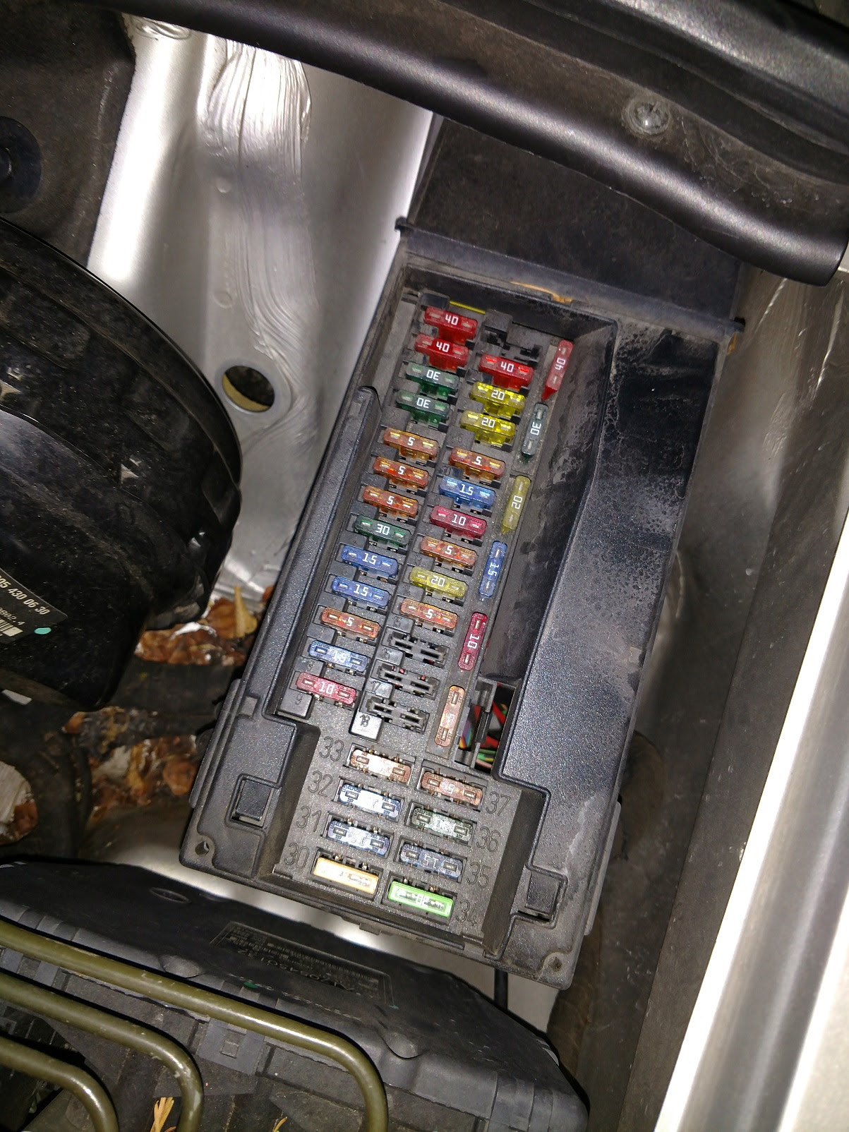 P0410 Code Help Fuse And Relay Locations For 2001 Slk320 Mercedes Slk World