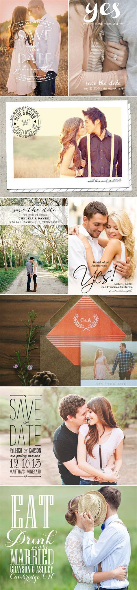 17 Cute Photo Save the date Ideas   Praise Wedding