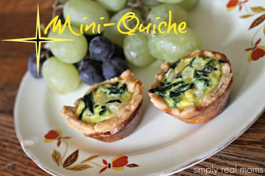 Mini Quiche Recipe | Simply Real Moms