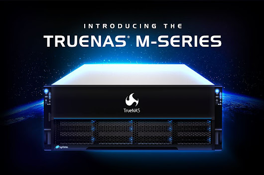 iXsystems TrueNAS M-Series Launched