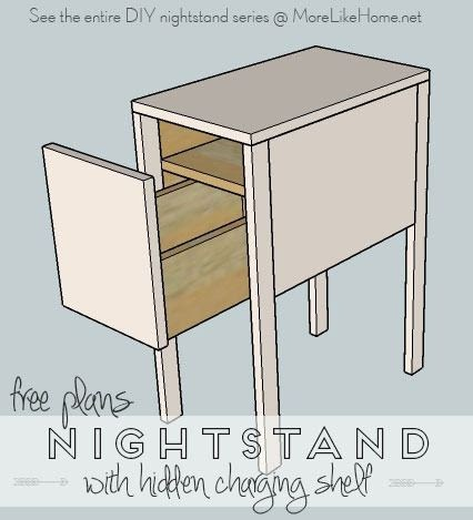 More Like Home Nightstands Day 13 Deep With Hidden