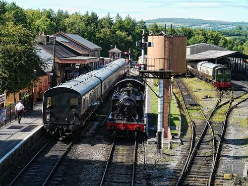 GWR 5526 at Buckfastleigh