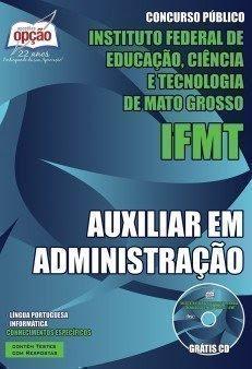 apostila IFTM AUXILIAR EM ADMINISTRAÇÃO