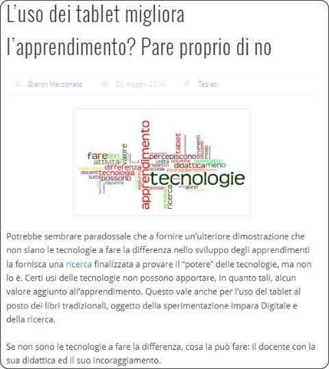 http://www.giannimarconato.it/2014/05/luso-dei-tablet-migliora-lapprendimento-pare-proprio-di-no/