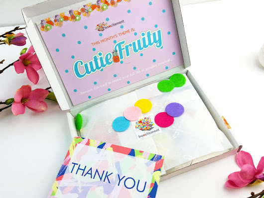 Cutie Fruity May Boxcitement & GIVEAWAY!! - Boxnip