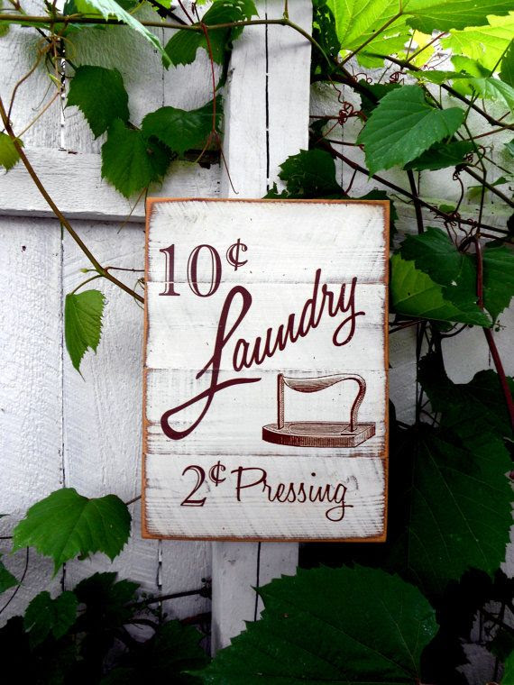 sign  $22 Sign Laundry Chic X 10 JezebelTreasures, 14 rustic Room Shabby  Wooden by laundry room