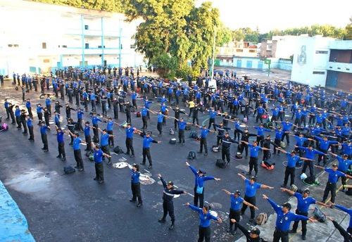 Mexico City: Over 600 Police Officers Learn Falun Dafa