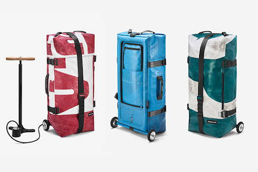 FREITAG introduces 'zippelin', an inflatable suitcase