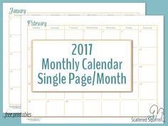 blank 30 day calendar print out | Blank Calendar | Pinterest | 30 ...