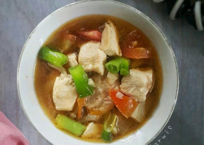 Resep Membuat Asem-Asem Ayam Tomat Hitungan Menit