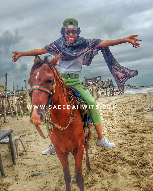 MY NYSC DIARY (FIRST TIME ON A HORSE) - Sa'eedah Imam | Poetry Places & Lifestyle Blog