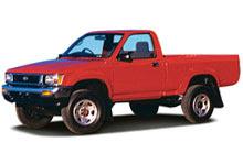 89 97 Toyota Hilux T100 Pickup Fuse Diagram