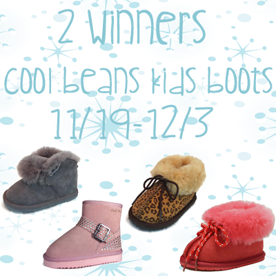 Cool Beans Boots Giveaway