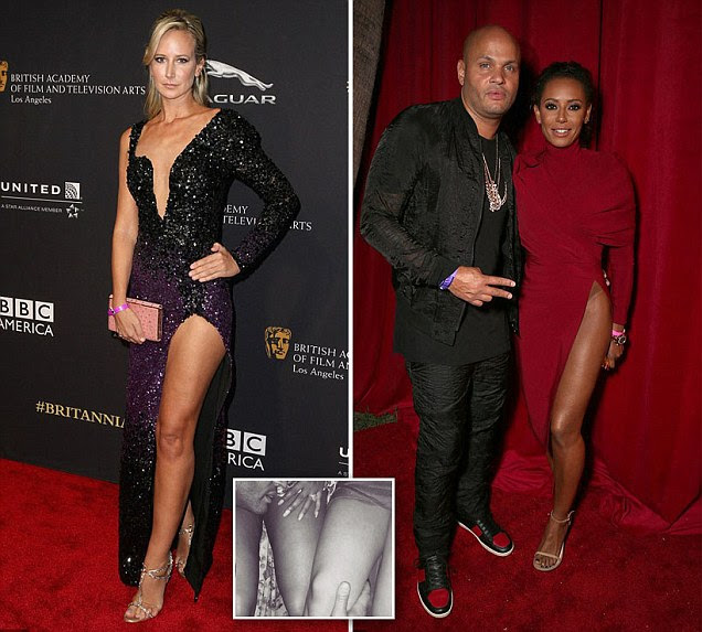 Victoria Hervey 'shared threesome' with Mel B & Stephen