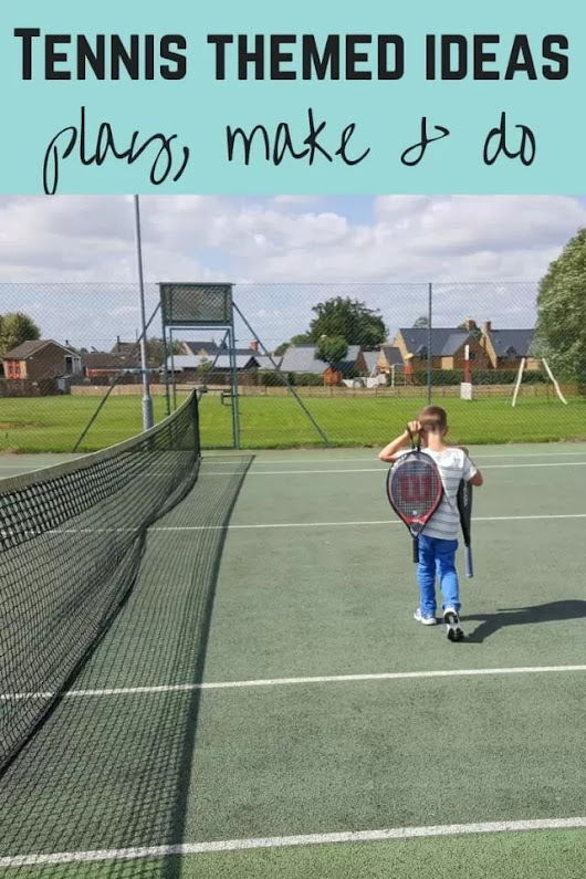 Celebrate summer with tennis activities for families - Bubbablue and me