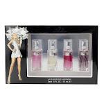 Paris Hilton 4 Pcs Set: Paris Hilton 15 Ml And Heiress 15 Ml And Can Can 15 Ml And Can Can Burlesque 15 Ml