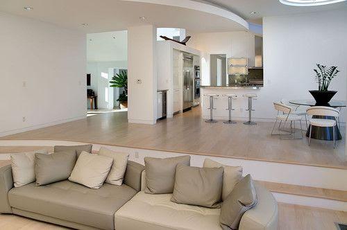 Split Level Living Room Decorating Ideas – Modern House