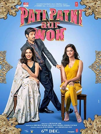 Pati Patni Aur Woh 2019 Hindi 720p 480p pDVDRip