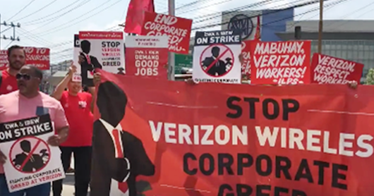 Verizon: Make Sure Workers are Paid What They Earned