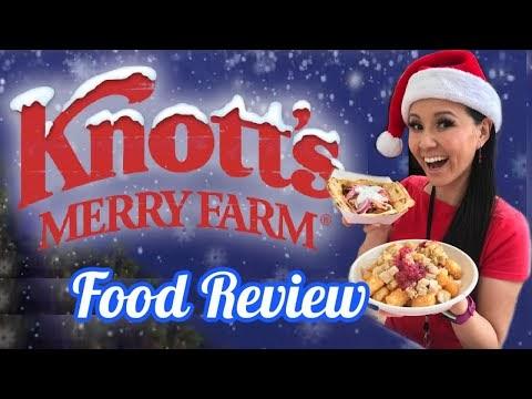 Best & Worst Holiday Treats at Knott's Merry Farm - Taste of Knott's Opening Day 2020