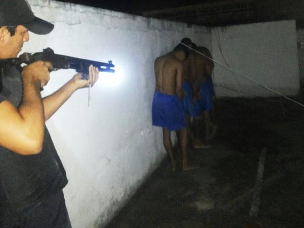 Guariteiros evitaram tentativa de fuga no Raimundo Nonato (Foto: Divulgação/PM)