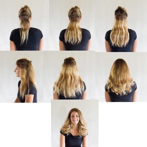 Schöne Frisuren Mit Clip In Extensions Apriliatinalia Blog