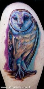 Owl Tattoo Meaning & Symbolism