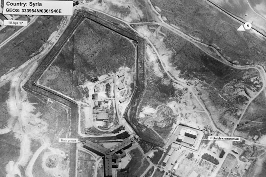 The State Department says Assad's regime built a crematorium to burn executed Syrian prisoners' bodies